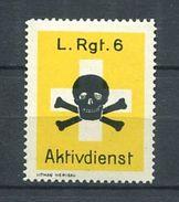 SUISSE 1939/45 - Vignette Militaire - Tete De Mort - Neuf ** (MNH) - Poste Militaire