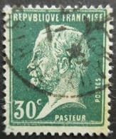 FRANCE Type Pasteur N°174 Oblitéré - 1922-26 Pasteur