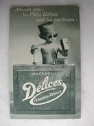 """CARTE PUBLICITAIRE - Collection """"Baby Délices"""" - Ferrand & Renaud - Le Bon Juge - Publicité"""