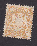 Bavaria, Scott #36, Mint Hinged, Coat Of Arms, Issued 1875 - Bavière