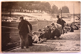 PECHEURS PARISIENS - PARIS - Die Seine Und Ihre Ufer