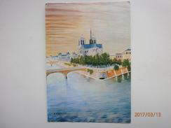 Postcard Notre Dame De Paris Artwork By D'Ascona My Ref B2600 - Notre Dame De Paris