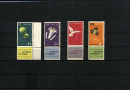 Israel 1952 Michel 73-76 Postfrisch / Mint Never Hinged - Israel