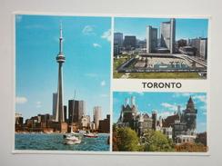 Postcard Toronto Ontario Canada Multiview My Ref B2602 - Toronto