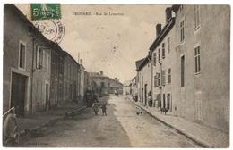54 FROUARD - Rue De Liverdun Animée Et Rare - Cpa Meurthe Et Moselle - Frouard
