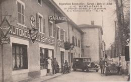 69 - LA CROISEE DE BELLEVILLE - GARAGE BERTHELIER - SUPERBE PLAN - France