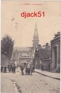 59 - CAUDRY (Nord) - Rue Gambetta - 1911 / Belle Animation - Caudry