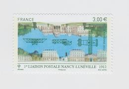 2012 - TIMBRE POSTE AERIENNE NEUF - 1 ère Liaison Postale Nancy-Lunéville En 1912 - N° YT : 75 - Poste Aérienne