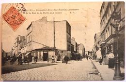CARREFOUR DE LA RUE DES CINQ DIAMANTS Et DE LA RUE DE LA BUTTE AUX CAILLES - PARIS - Distrito: 13