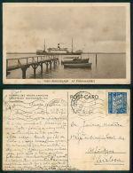 BARCOS SHIP BATEAU PAQUEBOT STEAMER [BARCOS #01330] - SS VAN RENSSELAER AT PARAMARIBO - BRASIL - Steamers