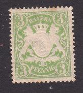 Bavaria, Scott #59, Mint Hinged, Coat Of Arms, Issued 1888 - Bavaria