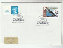 1993 GB Stamps  COVER EVENT Pmk COLCHESTER RAILWAY  Anniv Steam Train - Trains