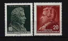 DDR - Mi-Nr. 510 - 511 - 200. Geburtstag Von Wolfgang Amadeus Mozart Postfrisch - [6] Repubblica Democratica