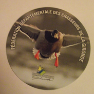 THEME CHASSE : AUTOCOLLNAT GIRONDE CANARD - Stickers