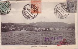 ITALIE - FIUMEDINISI - LE 24-10-1921 - BEL AFFRANCHISSEMENT ET BELLE CARTE POSTALE. - 1900-44 Victor Emmanuel III