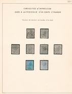 Belgie  COB 17 - 18  Used  Curiositeiten  Curiosités - 1865-1866 Profile Left