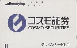 Télécarte Ancienne Japon / 110-3606 - Japan Front Bar Phonecard / A -  Balken Telefonkarte - Japan