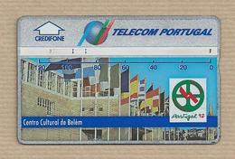 Portugal Telecom - Phonecard - Belém Cultural Center Year 1992 Telecarte Phonecard Tarjeta Credifone - Cultura