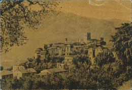 Roviano (Roma) Panorama VG 1957 - Italia