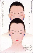 Télécarte Japon / 110-125264 - Cosmétiques NOEVIR / Femme - Girl Japan Cosmetics Phonecard Parfum Perfume - 227 - Parfum