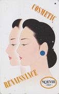 Télécarte Japon / 110-166777 - Cosmétiques NOEVIR / Femme - Girl Japan Cosmetics Phonecard Parfum Perfume - 222 - Parfum