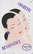Télécarte Japon / 110-166776 - Cosmétiques NOEVIR / Femme - Girl Japan Cosmetics Phonecard Parfum Perfume - 221 - Perfume