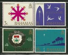 """Bahamas        """"Christmas 1971""""     Set     SC# 331-34 MNH** - Christmas"""