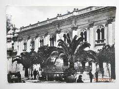 Postcard Scicli Municipio Ragusa Sicilia Italy Real Photo My Ref B2616a - Ragusa