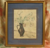 Pastel Du Prince Alexandre De Morée-Crivez - Pastels