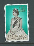 Papua New Guinea 1963 QEII 1 Pound Definitive MNH - Papouasie-Nouvelle-Guinée