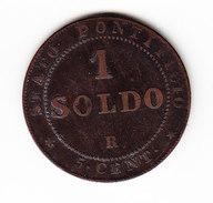 VATICAN    KM  1372.2, 1 Sol, 1867   PAPAL  STATES. (I  2053) - Vatican