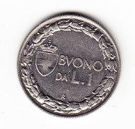 ITALY KM 62, 1922R, 1 Lire . (3B25) - 1861-1946 : Royaume