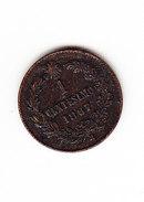 ITALIE    KM  1.3, 1c,  1867.   (I  2031) - 1861-1946 : Kingdom