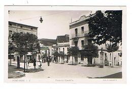 CPSM ESPAGNE PORT BOU Piaza Del Caudillo - Other