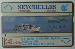 SEYCHELLES - L&G - 240 Units - Masons Travel - 011E - Used - Seychellen