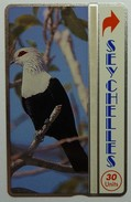 SEYCHELLES - Landis And Gyr - L&G - 30 Units - Comoro Blue Pigeon - 311E - Mint - Seychelles