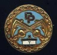 Ancien Insigne Direction Du Port Toulon -- Augis Lyon  Ins3 - Marine