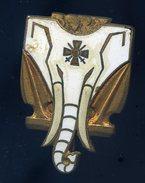Ancien Insigne émaillé Aviso Dragueur Commandant Bory -- Courtois Paris  Ins3 - Marine
