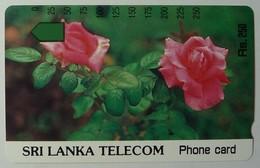 SRI LANKA - Tamura - 500 Units - Roses - Mint