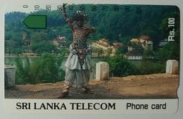 SRI LANKA - Tamura - 100 Units - Dancer - Mint - Sri Lanka (Ceylon)