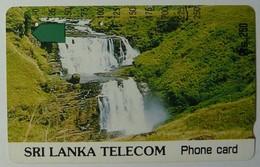 SRI LANKA - Tamura - 250 Units - Waterfalls - Used - Sri Lanka (Ceylon)