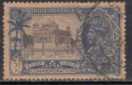3½a Silver Jubilee Used, British India KGV , 'Golden Temple', - 1911-35 Roi Georges V