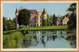 38 / CHABONS - Château De Pupetières Et étang - Altri Comuni