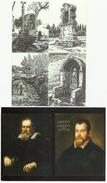 BELMONT Abbaye, 2 Cpm , Chapelles Et Oratoires,+galillé Et L´église Des Relations Tourmentées - Autres Communes