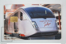 Collectible Train Topic Phone Card - Talgo Virgen Del Rocio, Telefonica Spain - Trenes