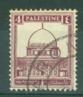 Palestine: 1932/44   Buildings    SG104    4m   Used - Palestine