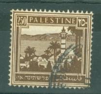 Palestine: 1932/44   Buildings    SG109    250m     Used - Palestine