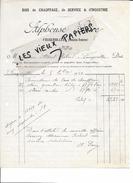 70 - Haute-saône - FOUGEROLLES - Facture SAIRE - Bois De Chauffage, De Service, D'industrie - 1929 - REF 61A - France