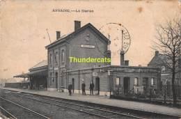 CPA ANVAING LA STATION - Frasnes-lez-Anvaing