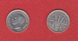 Australie  --  3 Pence 1951 --  état  TTB - Sterling Coinage (1910-1965)